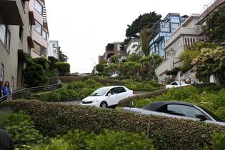 LOMBART STREET à San Francisco