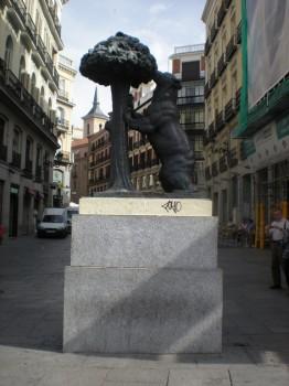 Puerta del Sol à Madrid