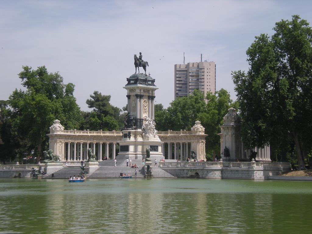 Parc del Buen Retiro à Madrid
