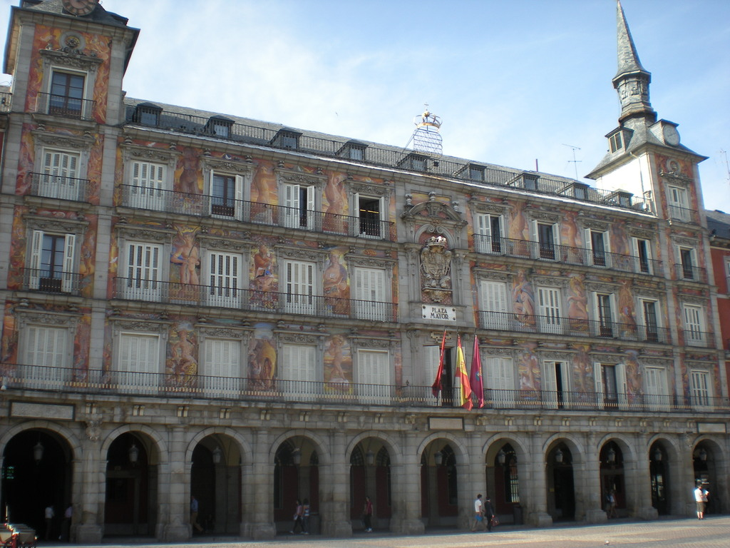 Plaza Mayor à Madrid