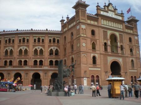 Les arènes de las Ventas à Madrid
