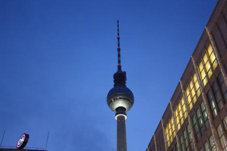 Alexander Platz à Berlin
