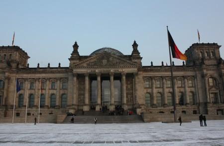 Le palais du Reichstag à Berlin