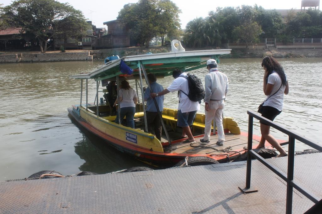 Ayutthaya la traversée en bateau