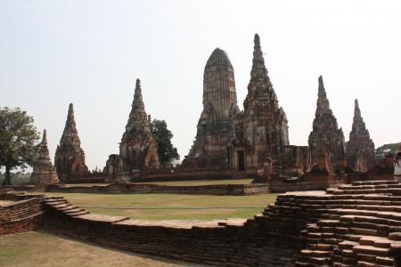 Wat Chaiwatthanaram à Ayutthaya