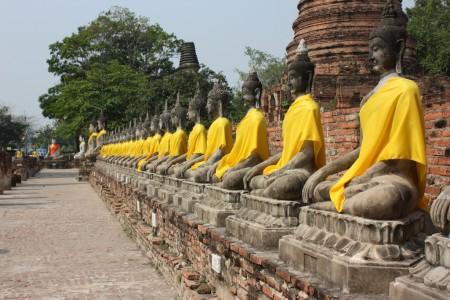 Wat Yai Chai Monkolphit à Ayutthaya