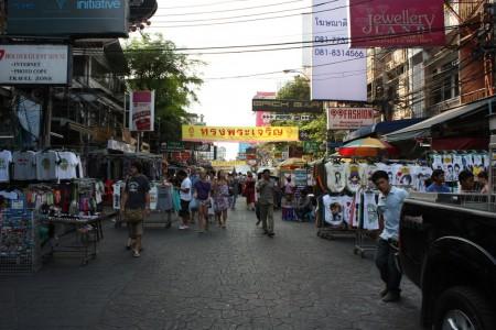 Soi Rambuttri à Bangkok