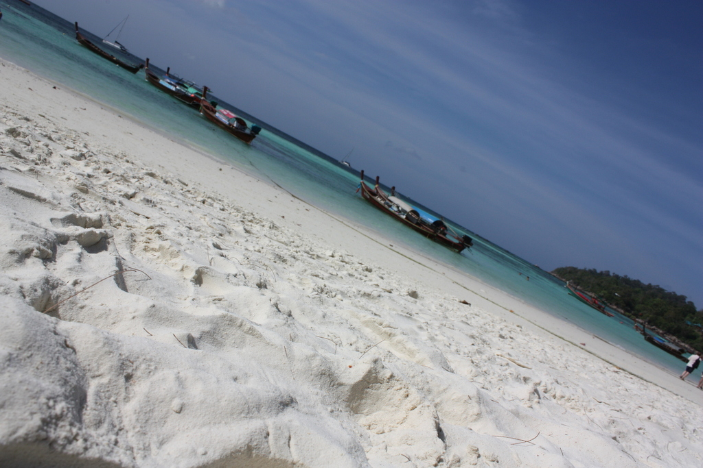 Le sable de Koh Lipe en Thaïlande