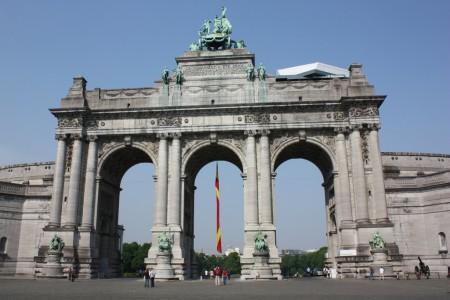 Le Parc du Cinquantenaire du Bruxelles