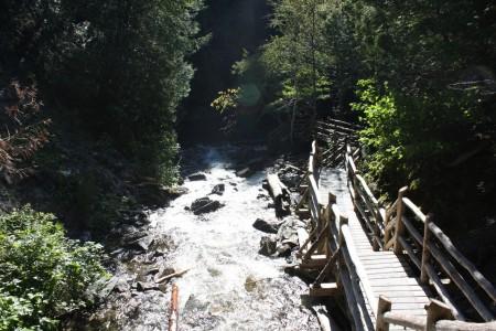 Le Canyon des Portes de l'Enfer au Canada
