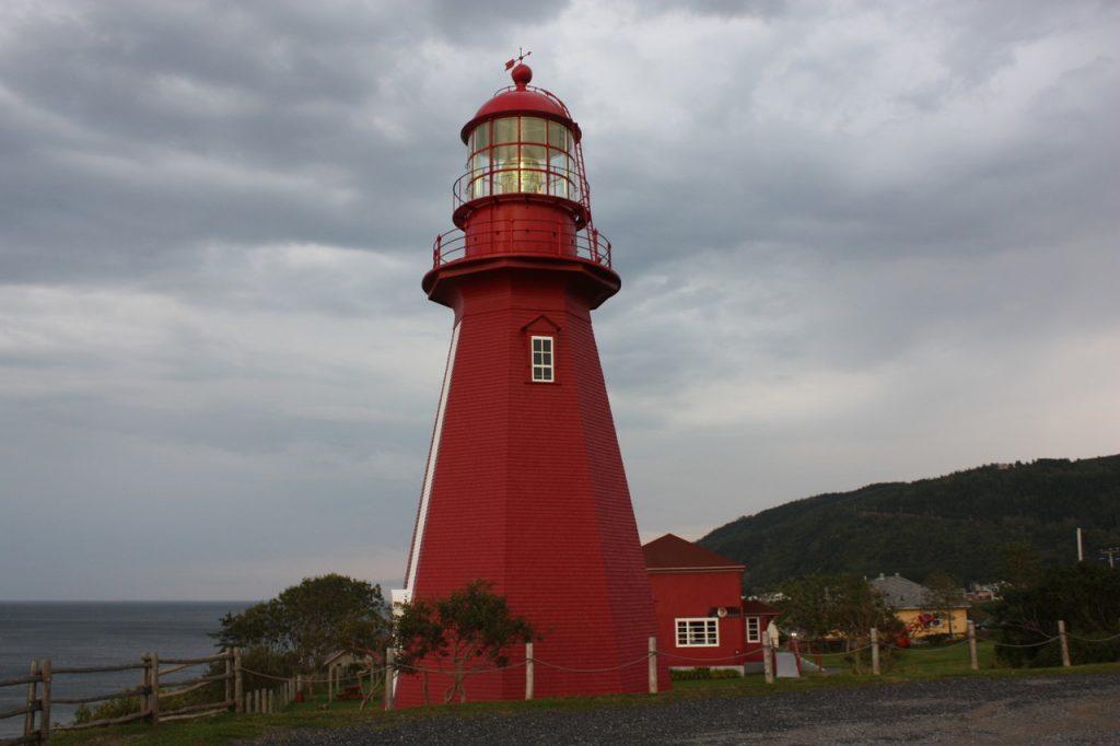 Le phare de La Martre au Canada