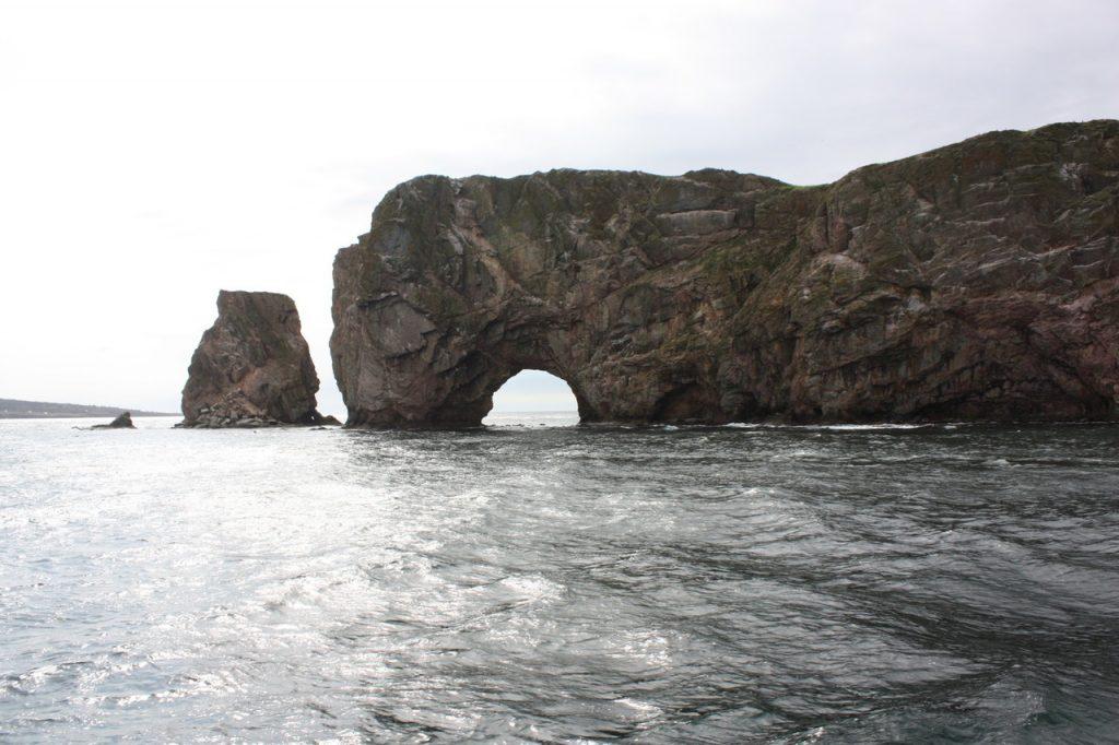 Le rocher Percé au Canada
