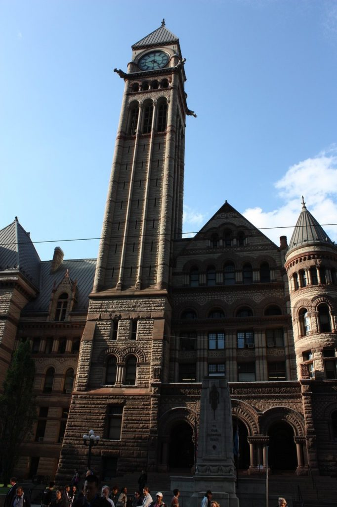 Ancienne Mairie de Toronto au Canada