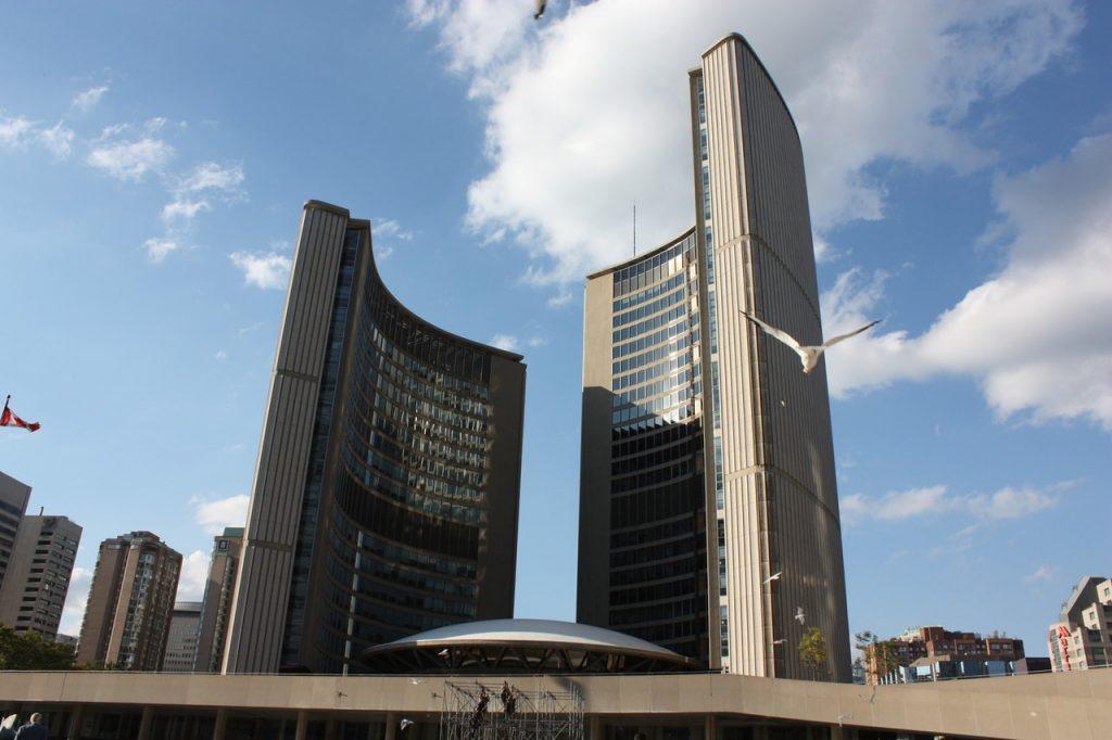 City Hall de Toronto au Canada