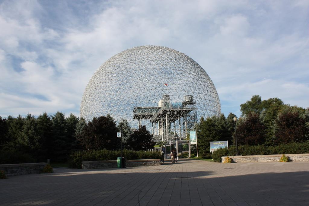 La Biosphère de Montréal au Quebec