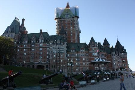 Château de Frontenac à Québec au Canada