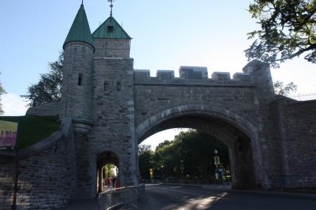 Porte Saint-Louis à Québec au Canada