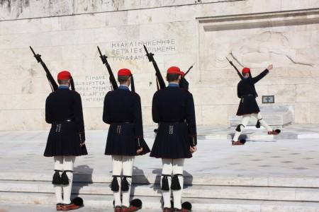 La Place Syntagma d'Athènes