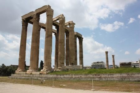 Olympiéion à Athènes