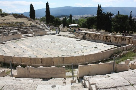 Théâtre de Dionysos à Athènes