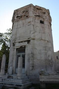 L'Agora romaine et la Tour des Vents à Athènes
