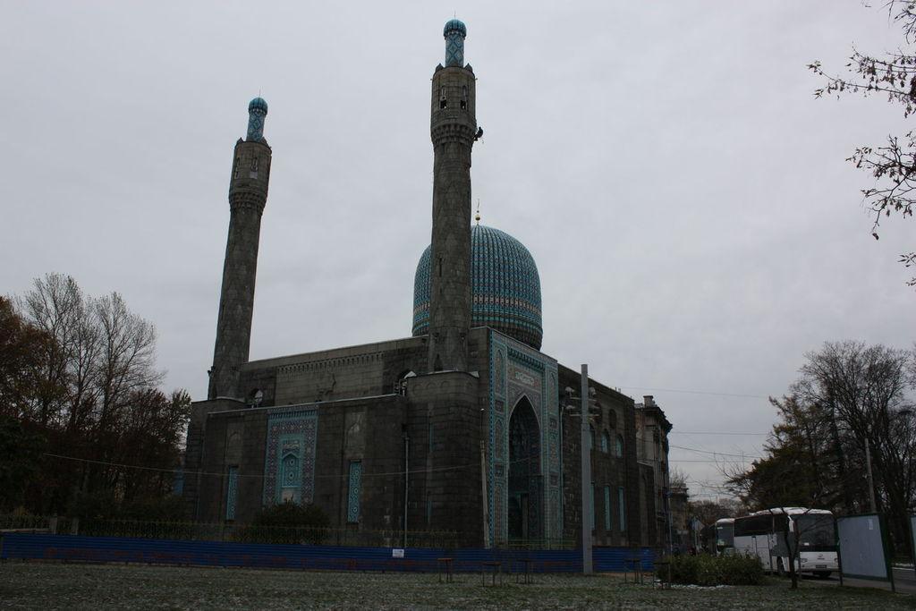 Mosquée de Saint-Pétersbourg