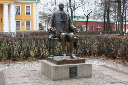 Statue de Pierre le Grand