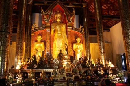 Wat Chedi Luang à Chiang Mai