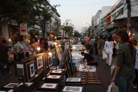 Night Bazar de Chiang Mai