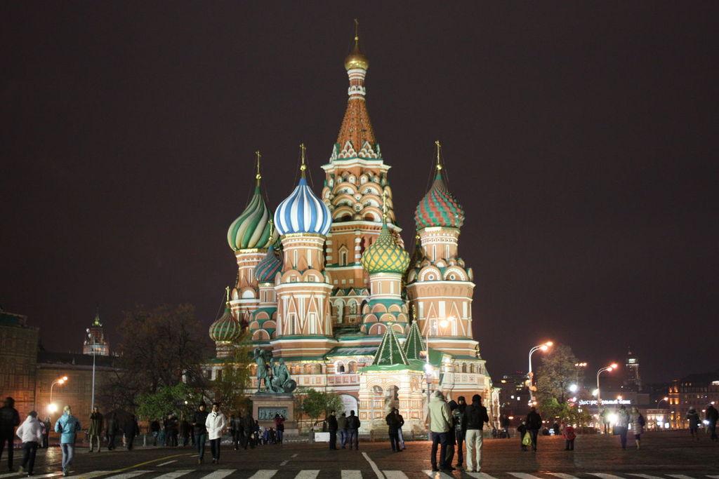 La Cathédrale Basile-le-Bienheureux à Moscou