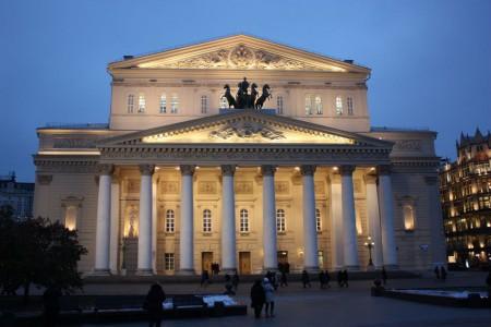 Le théâtre de Bolchoï à Moscou