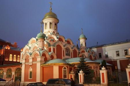 La Cathédrale de Kazan de Moscou