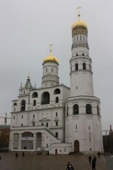 Le clocher de Ivan au Kremlin de Moscou