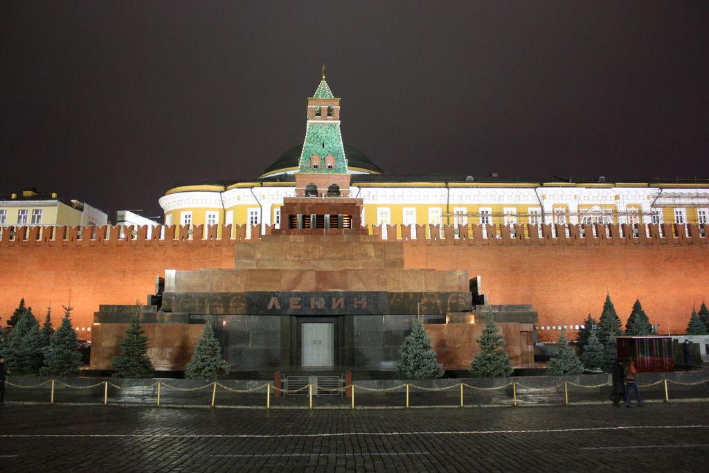 Le Mausolée de Lénine à Moscou