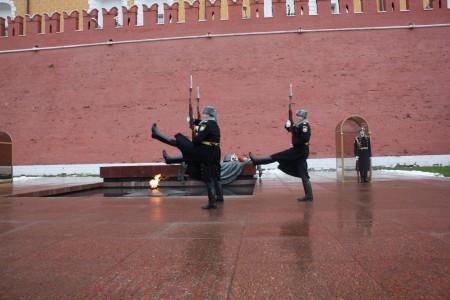 La tombe du soldat inconnu à Moscou