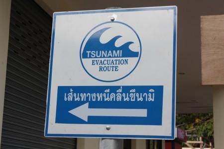 Evacuation Road à Koh Phi Phi