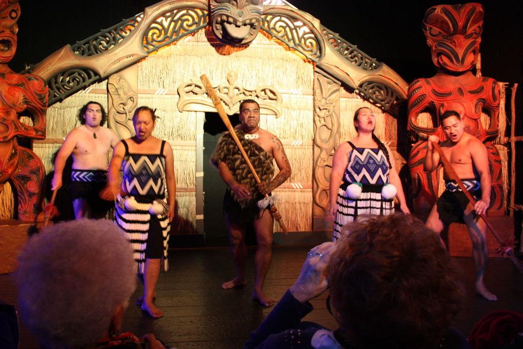 Le Kiwi Haka Show à Queenstown en Nouvelle-Zélande