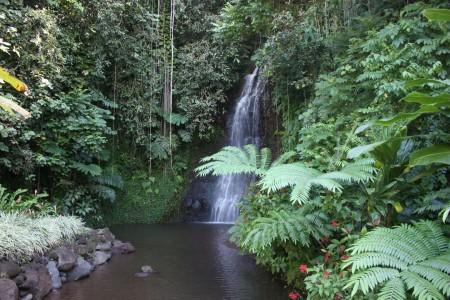 Les 3 Cascades en Polynésie