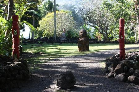 De Marae Arahurahu à Paea en Polynésie