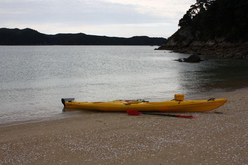 Randonnée en kayak au Abel Tasman National Park en Nouvelle-Zélande
