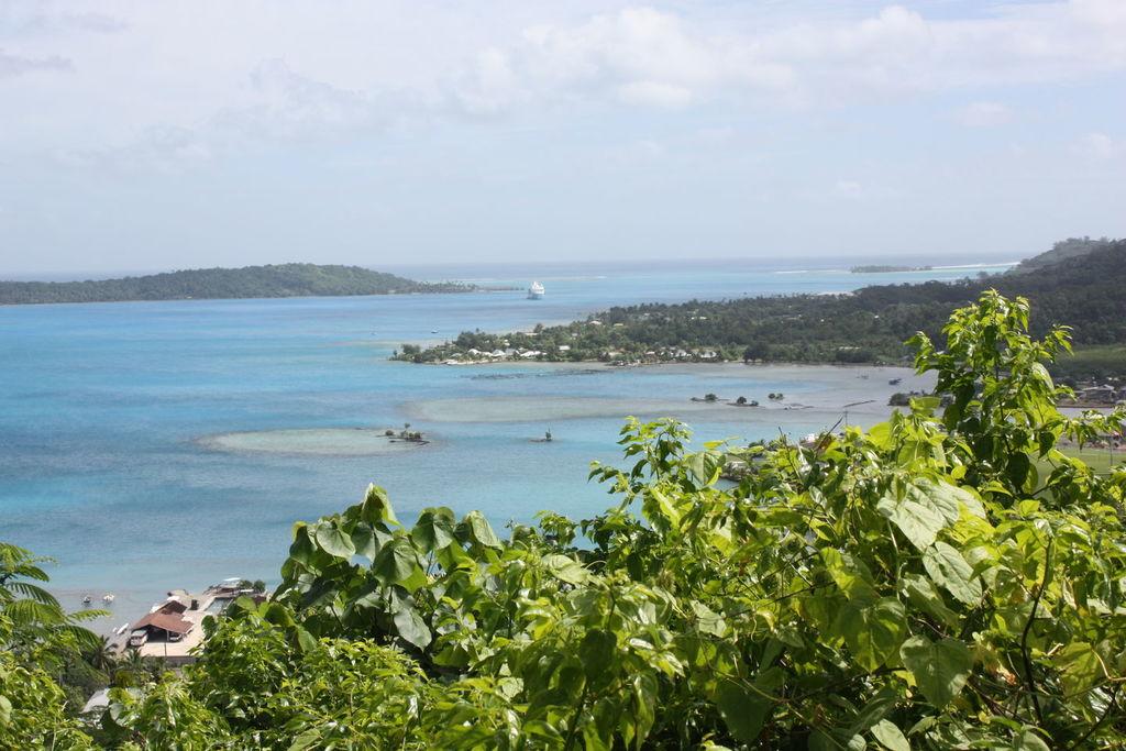 Le Lagon de Bora Bora en Polynésie