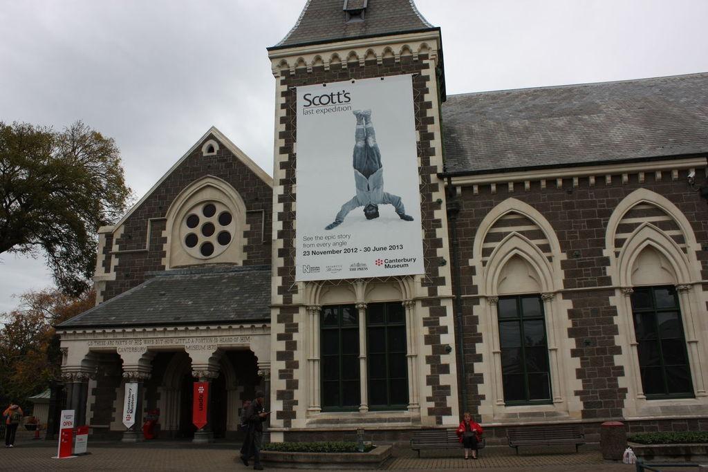 Canterbury Museum à Christchurh en Nouvelle-Zélande