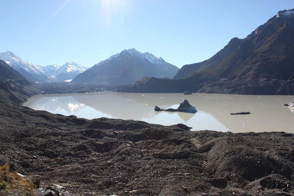 Tasman Glacier View Track en Nouvelle-Zélande