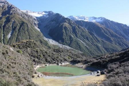 Blue Lakes dans le Mount Cook National Park