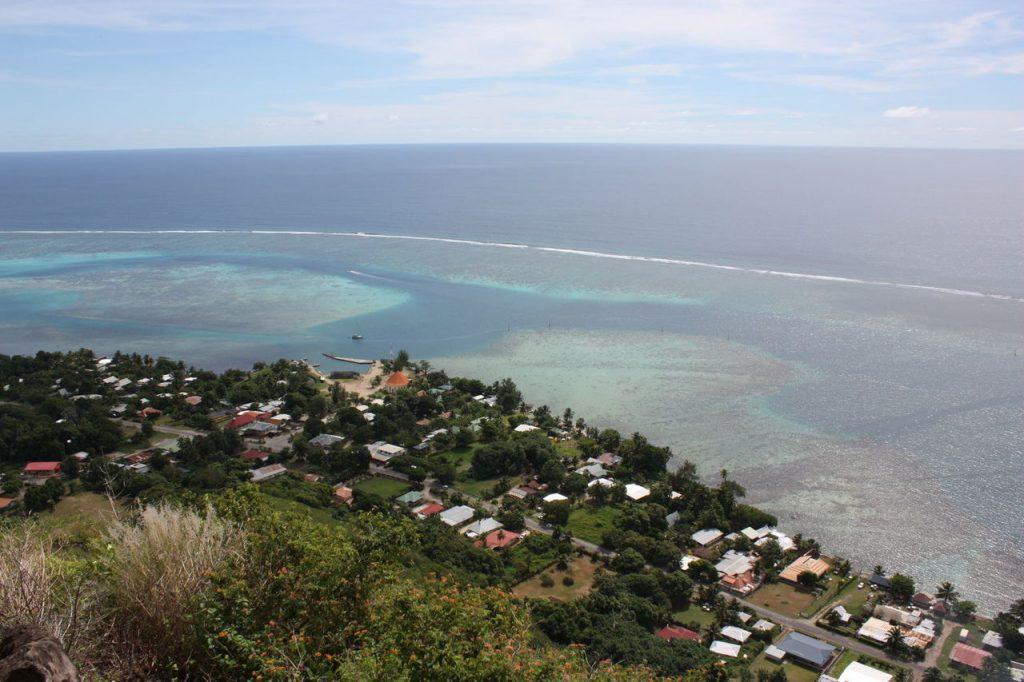 Belvédère du Cratère à Moorea
