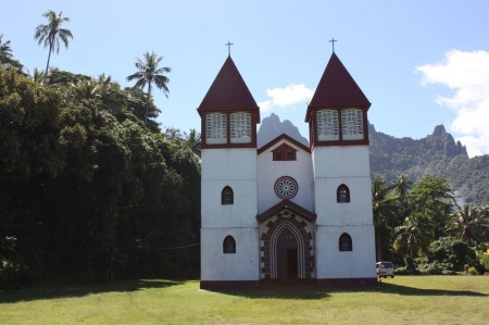 Eglise Sainte Famille à Moorea
