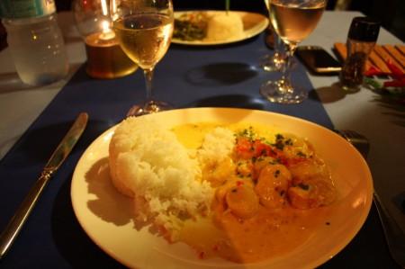 Le Restaurant des Tipanniers à la Polynésie Française