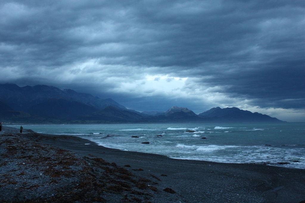 Sur la route de Kaikoura en Nouvelle-Zélande