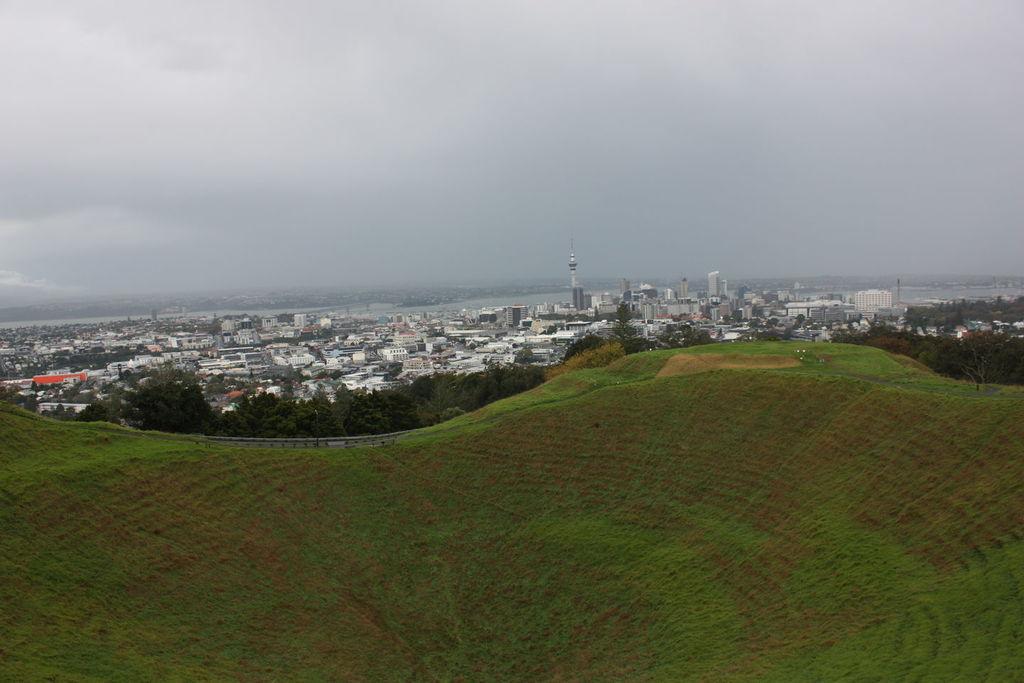 Le Mont Eden à Auckland en Nouvelle-Zélande