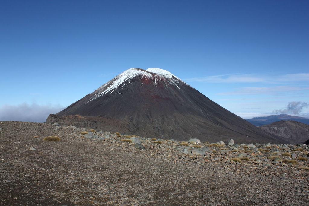 Mont Ruapehu en Nouvelle Zélande
